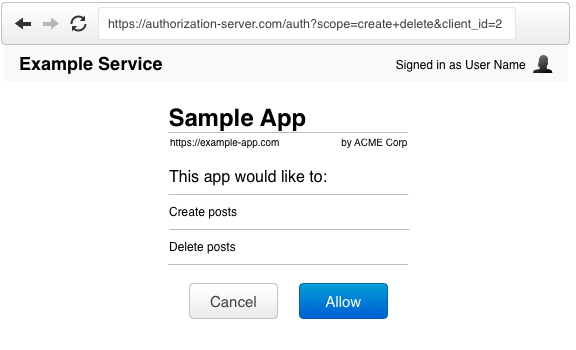 OAuth Prompt