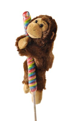 "The Petting Zoo: 7"" Lolly Plush Monkey"