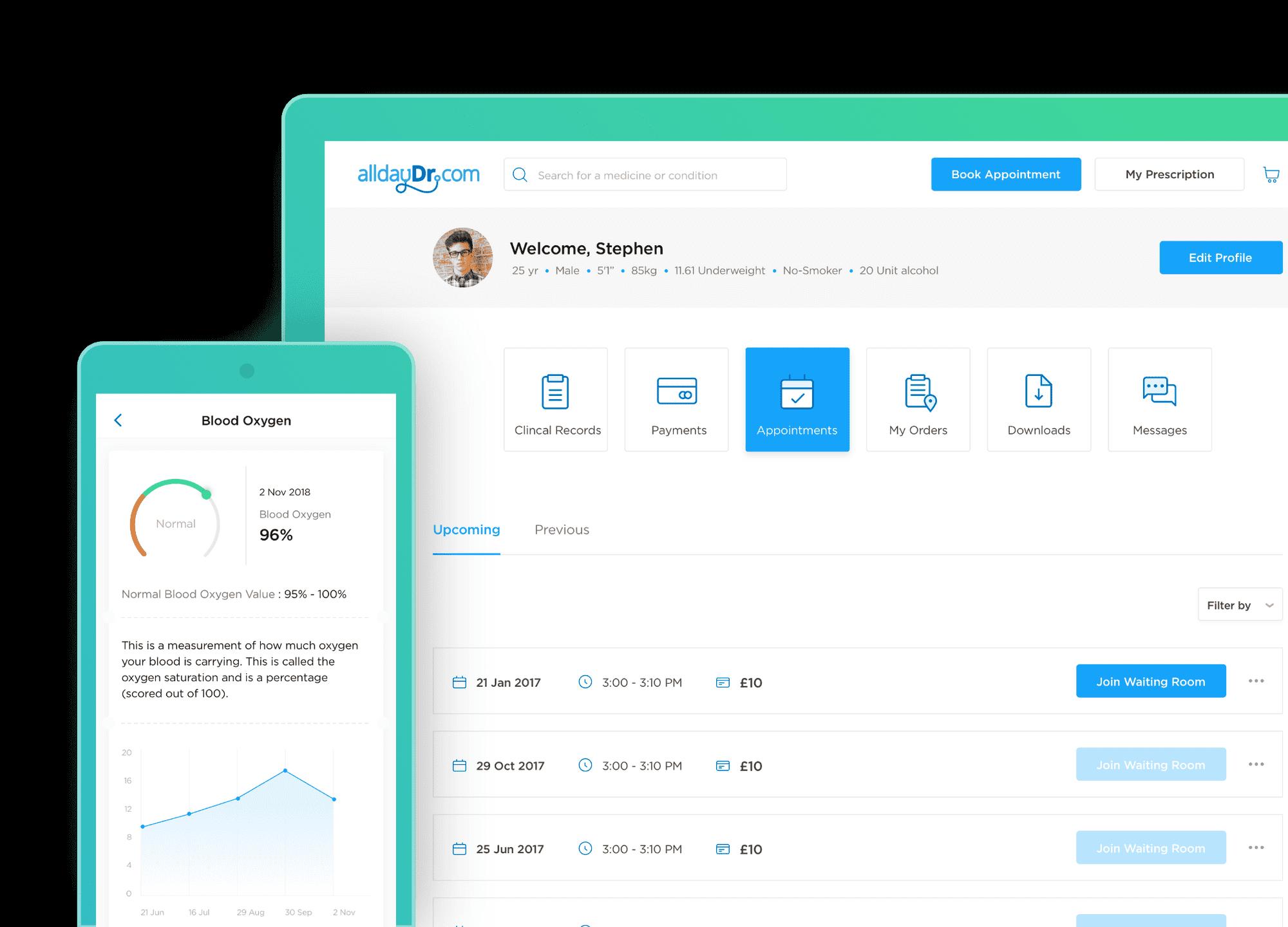 alldayDr doctor consultation app
