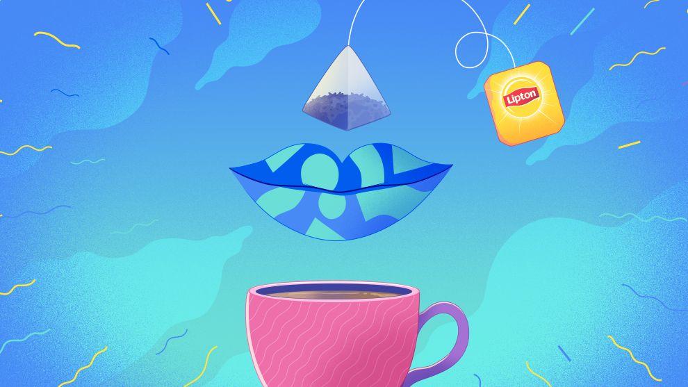 Lipton's tea bag