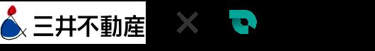 三井不動産 × SmartDrive ロゴ
