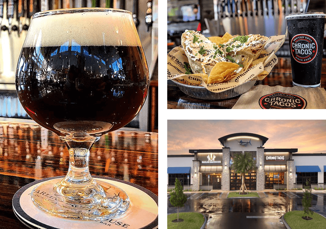 Marlins Brewhouse and Chronic Tacos
