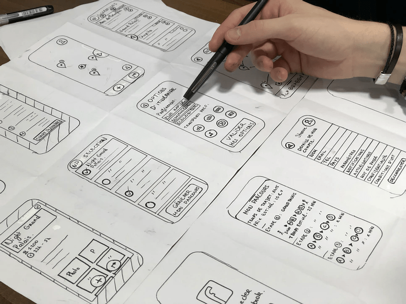 Prototyping on paper