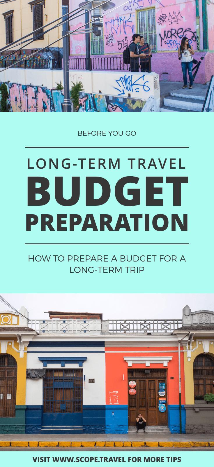 pinterest long term travel budget prep