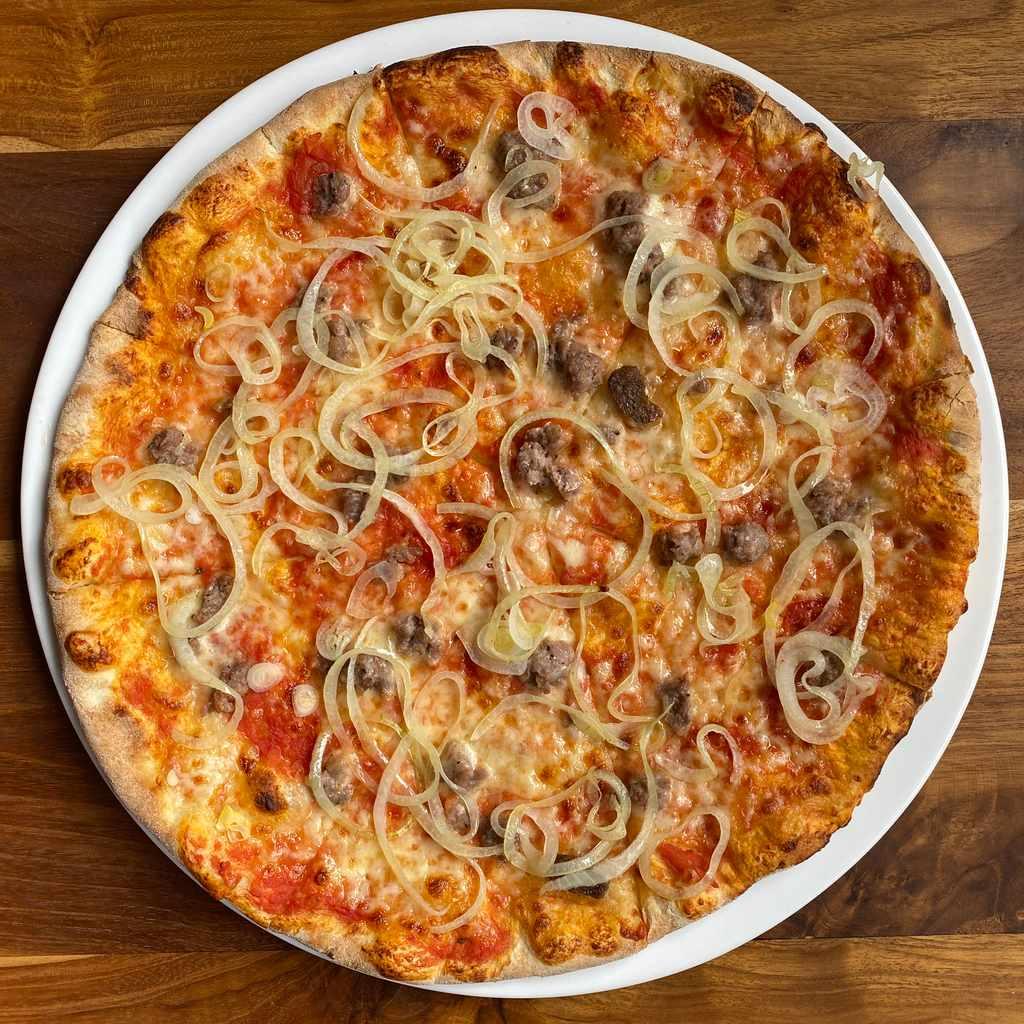 pizza: rustica