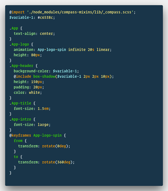 compass in react
