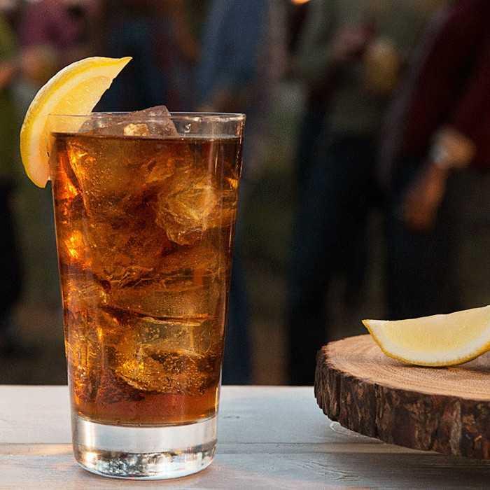 Citrus Coke Cocktail