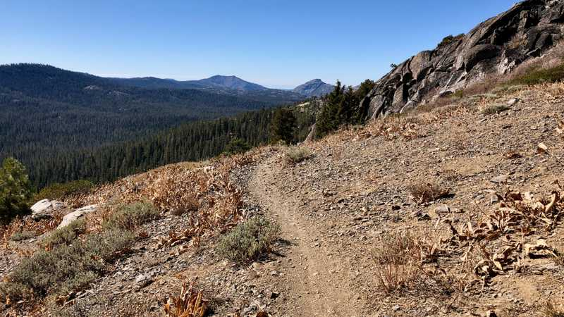 A view of Old Man Mountain from the PCT