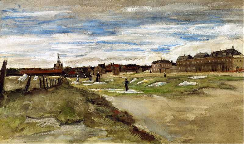 leachery at Scheveningen by Vincent Van Gogh, 1882