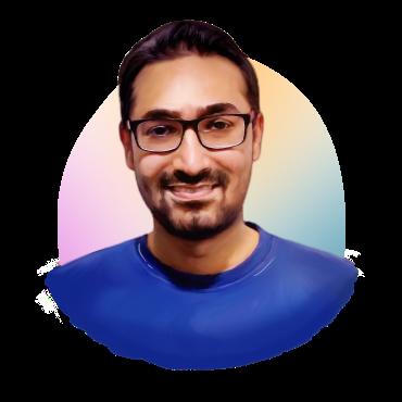 Portrait of Shoaib Ahmed