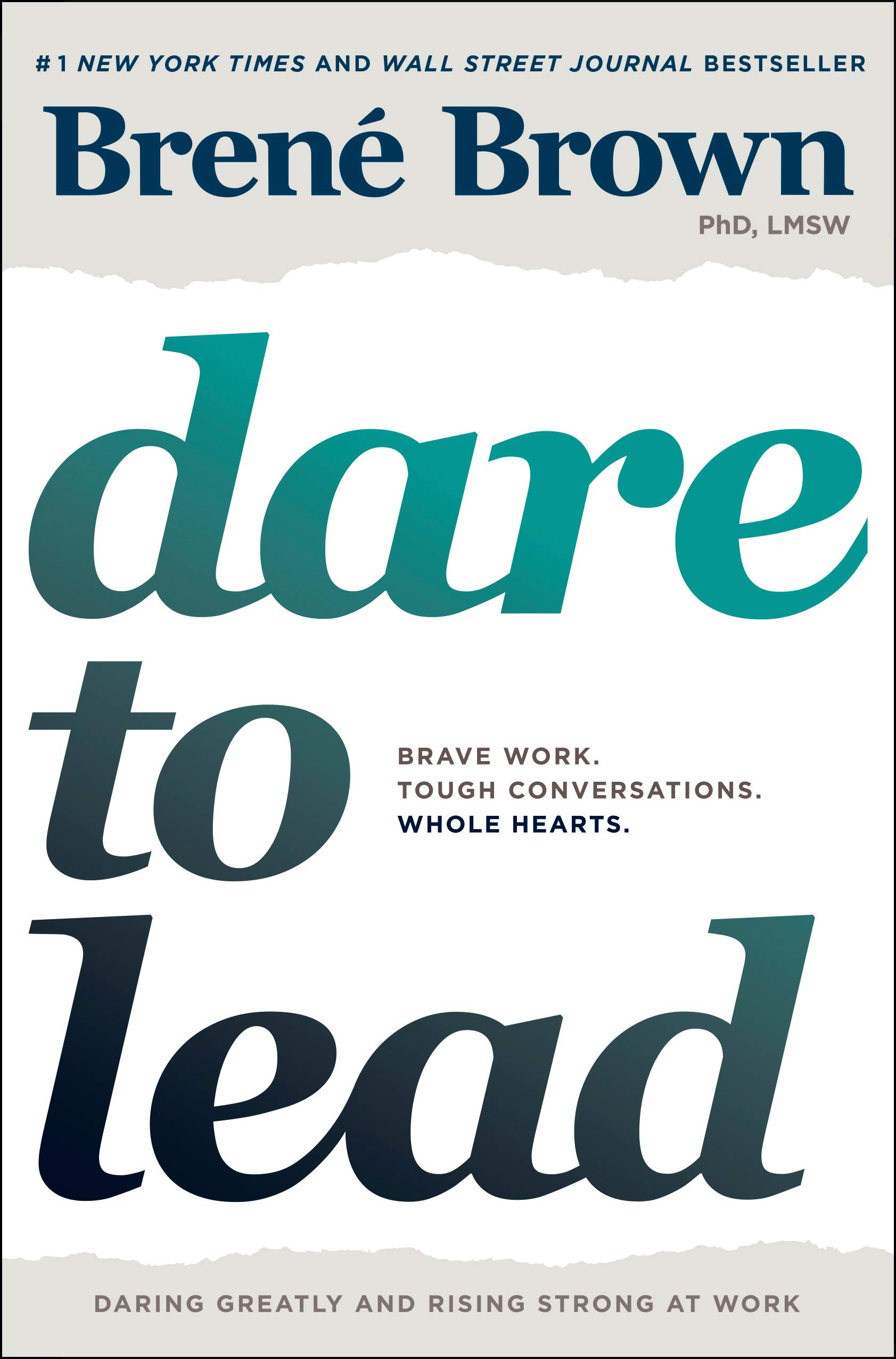 The cover of Dare to Lead