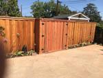 friendly neighbor wood gate
