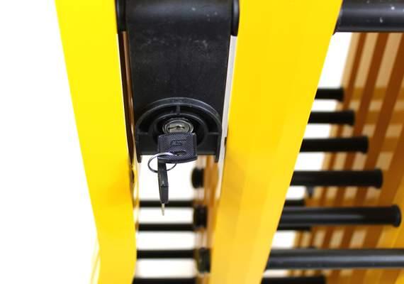 Turtle Gate Barrier Interlocking Key