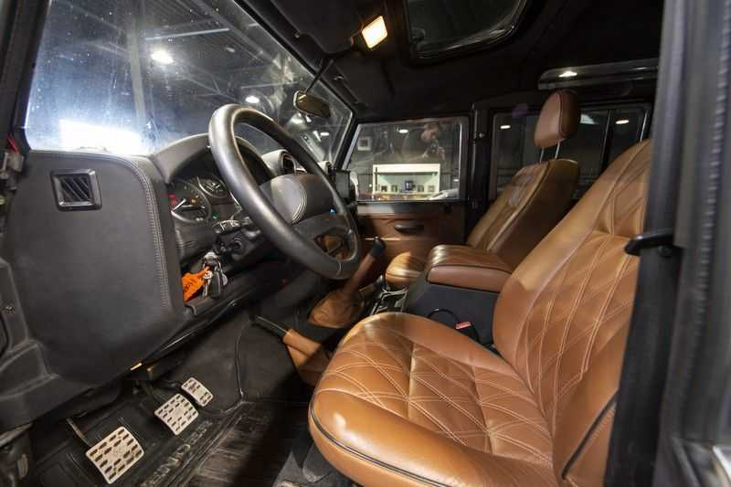 Land Rover Defender 2.4 TD 110 SW SE 7-zits Extreem compleet! afbeelding 8