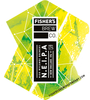 Fisher's NEIPA pump clip