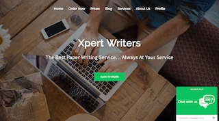 xpertwriters.com main page