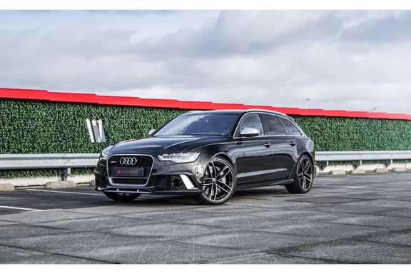 Audi RS6 4.0 TFSI quattro Pro Line Plus Akrapovic | B&O Premium Sound | Head-Up | Origineel NL | Dealeronderhouden | Pano.Dak | 360 Camera