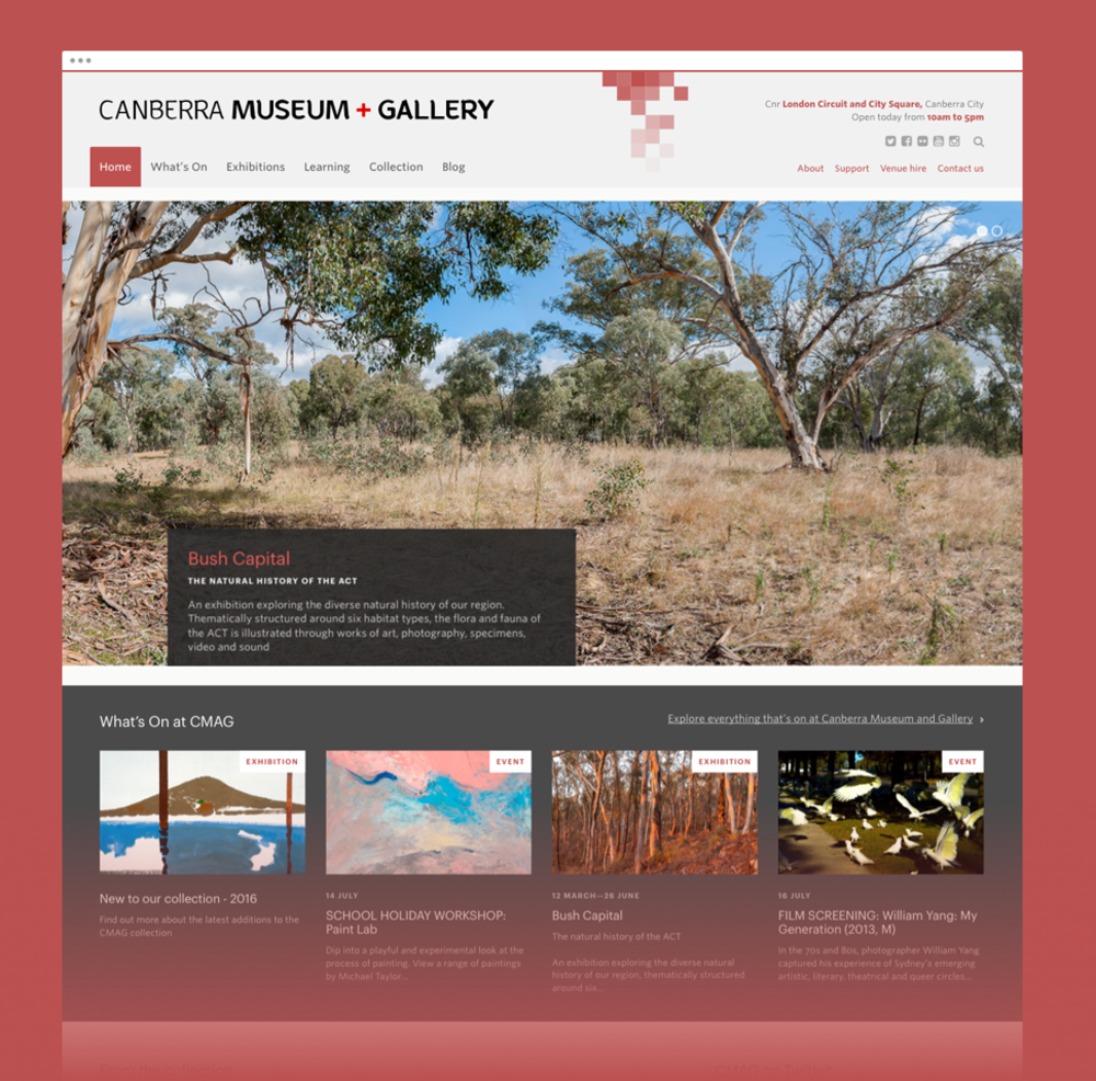 CMAG home page