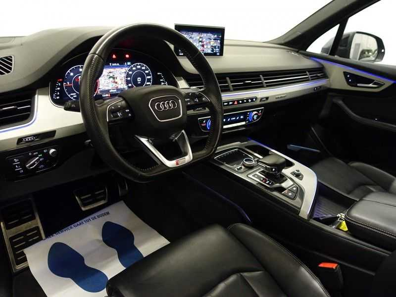 Audi Q7 3.0 TDI (SQ7) 300PK Quattro S-Line 7pers Autom- Pano, Virtual Cockpit, Bose, Head-up, Full! afbeelding 9