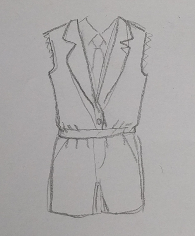 <small><a href='http://www.annekecaramin.com/' target='_BLANK'>Anneke</a> trying to <em>help</em> by sketching a romper for me</small>