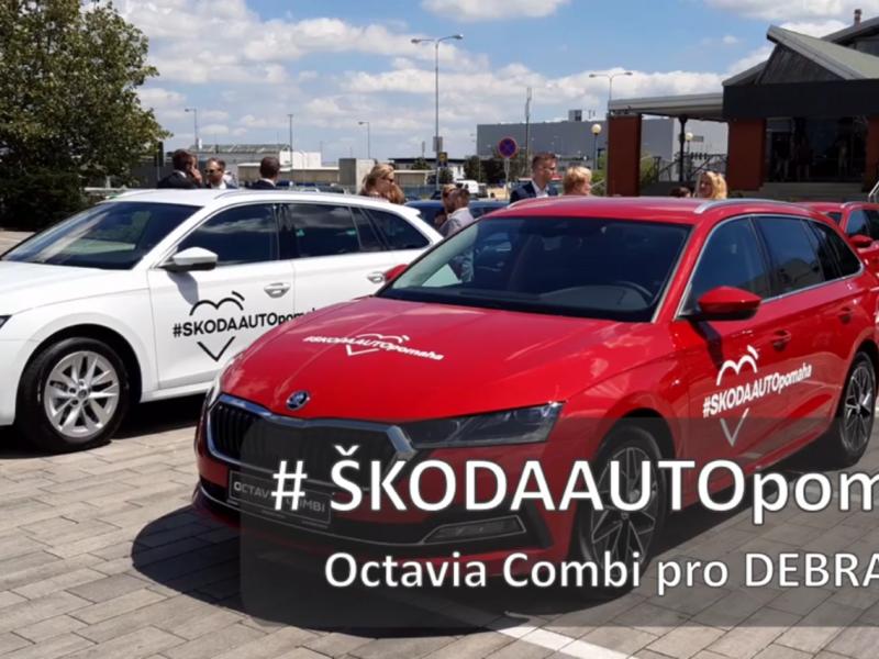 Škoda Octavia pro DEBRA ČR