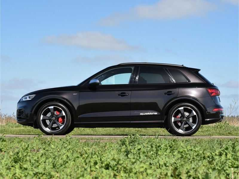 Audi SQ5 3.0TFSI 354pk Quattro Black Optic Alle Opties! Individual Lucht Tr.Haak Standk Ruitleder 360Cam afbeelding 13