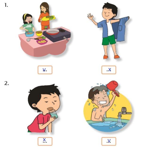 Jawaban buku tematik 6 untuk kelas 3 Halaman 8-10