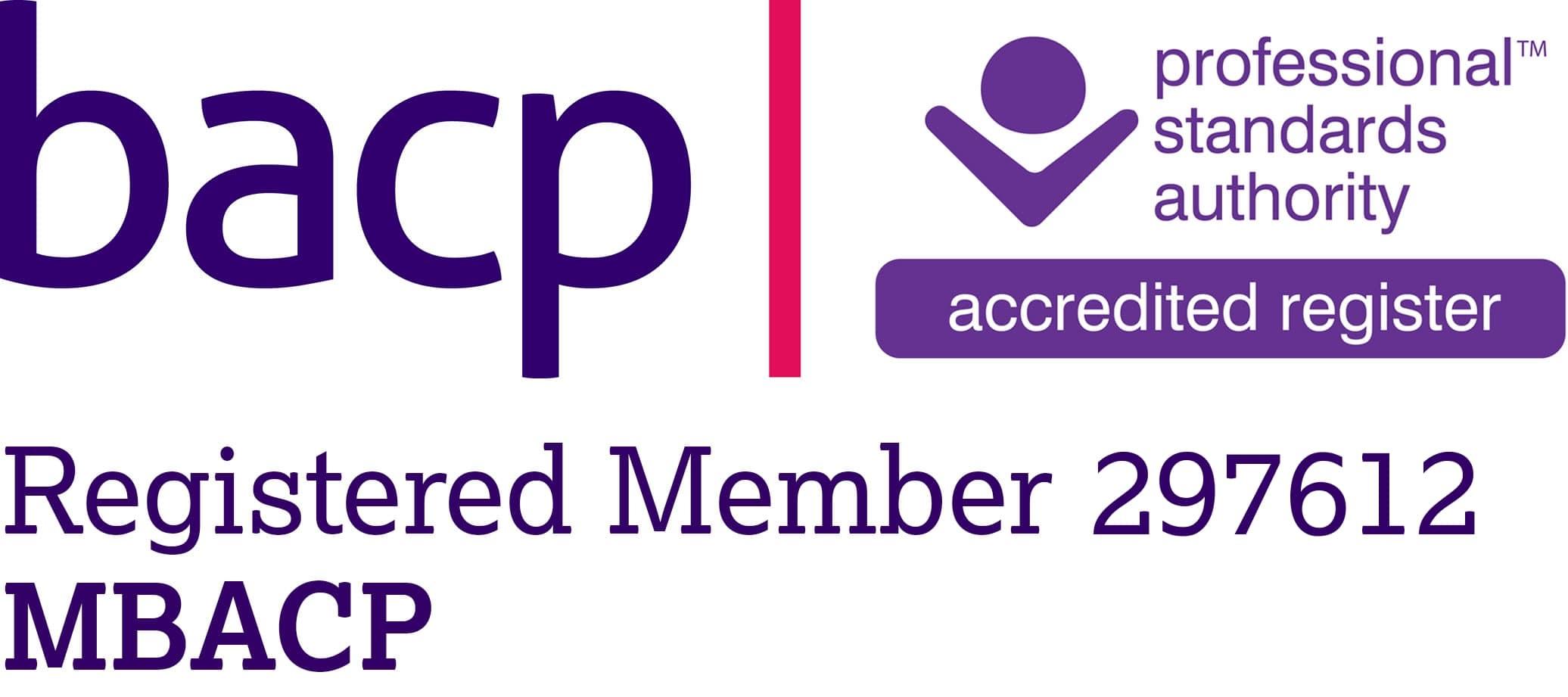 BACP Logo accreditation