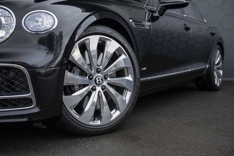 Bentley Flying Spur 6.0 W12 FIRST EDITION MY 2021 NAIM + Mulliner + Touring Spec + Head-Up + Bentley Rotating Display + Onyx Pearl / Beluga + Full Option + afbeelding 18