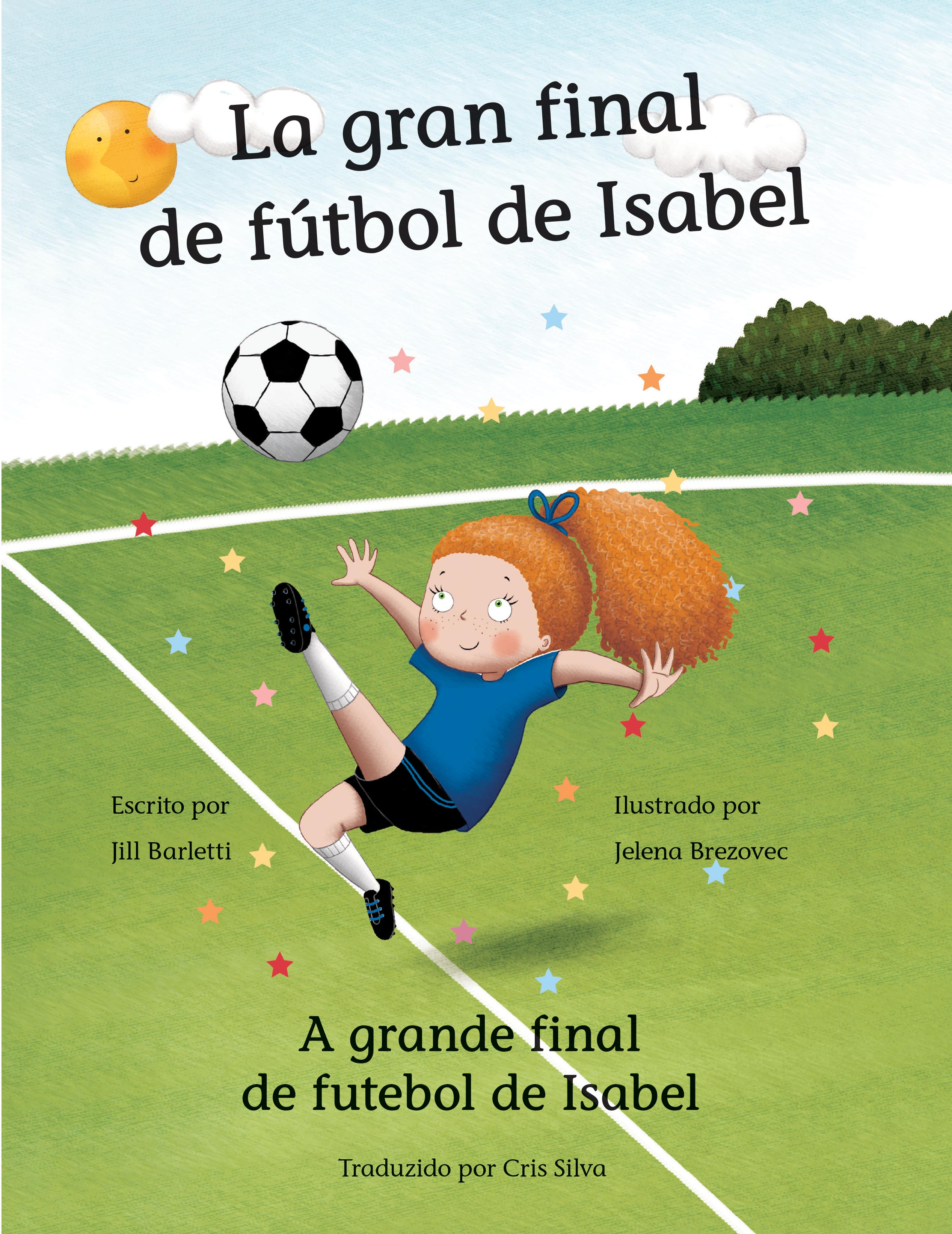 Cover of The Big Soccer Game for girls Book