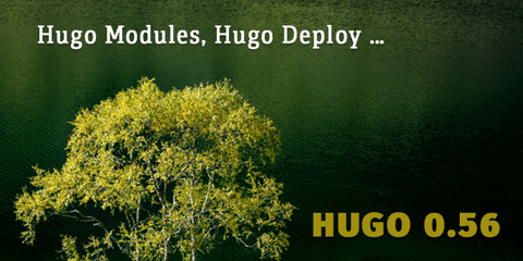 Featured Image for Hugo 0.56.0: Hugo Modules and Deployment