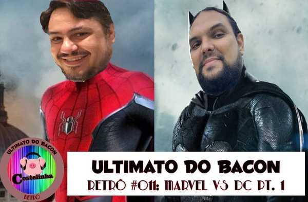 Homem-Aranha Batman Alexandre Diego Capa Sobrecast UB Retrô