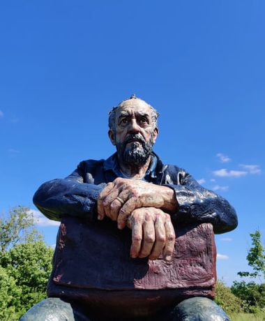 Yorkshire Sculpture Park Seated Figure