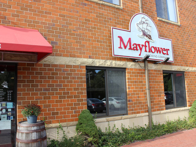 Mayflower Brewing Company in Plymouth, MA