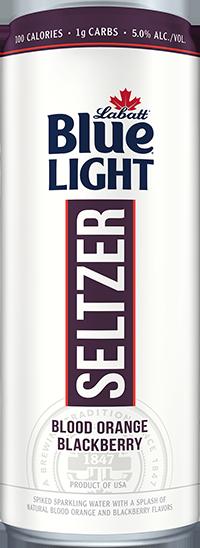 Labatt Blue Light Seltzer Blood Orange Blackberry