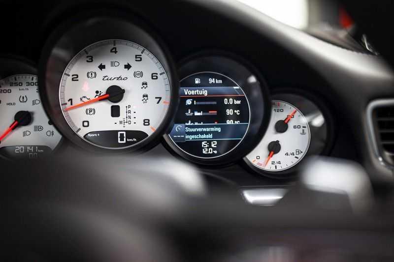 "Porsche 911 991 MKII 3.8 Turbo *Schuifdak / 20"" / BOSE / Sport Chrono / PDLS+ / Liftsysteem* afbeelding 9"