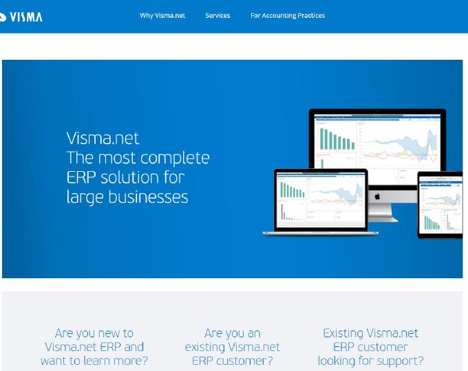 Visma.net van Visma koppelt u eenvoudig met Payt