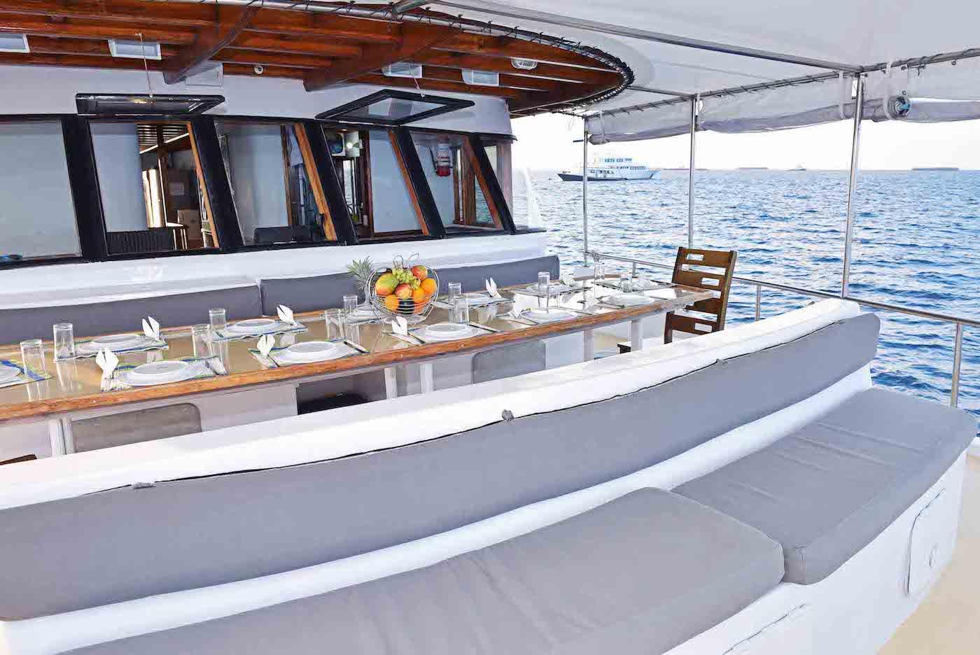 Blue Horizon 2 Surf Charter Boat Maldives Decks