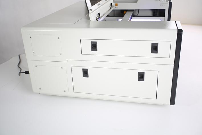 left panel closed, on the Aeon Mira CO2 Desktop Laser Cutting Machine