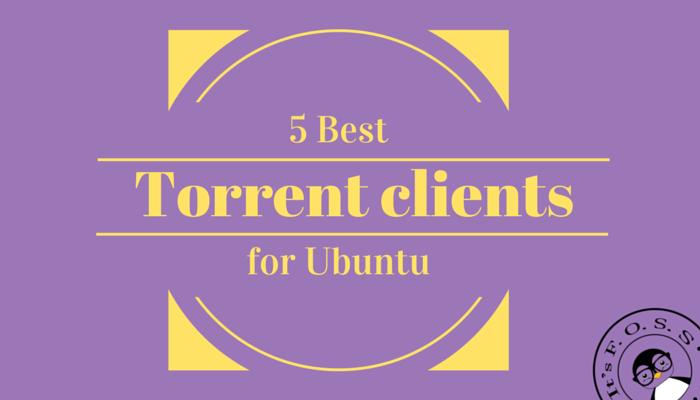 Best Torrent clients for Ubuntu Linux