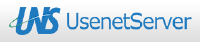 UsenetServer Review logo