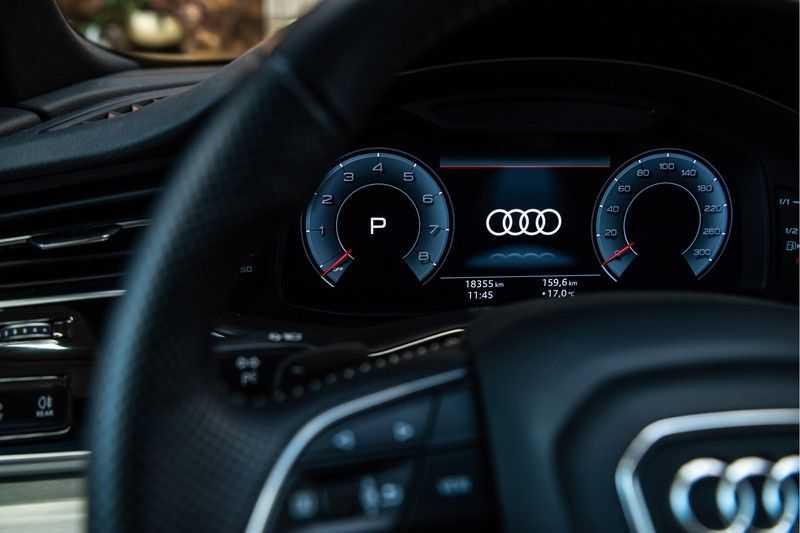 Audi Q8 55 TFSI quattro 3x S-line | PANO | 4 wielsturing | Tour | Trekhaak | Matrix LED | afbeelding 4