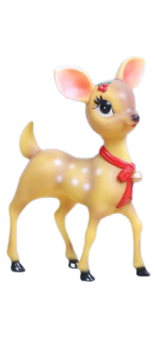 Small Girl Reindeer photo