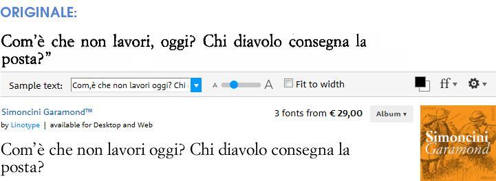 Pulp (Feltrinelli) font: Simoncini Garamond