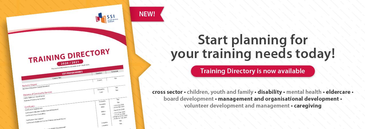 Social Service Institute SSI Singapore - Course Schedule,Course List,Training Calendar