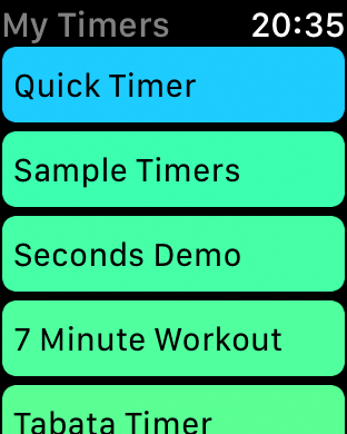 seconds interval timer press kitSeconds Timer For Interval Training Circuit Training Hiit Tabata #21