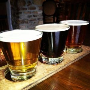 three beer
