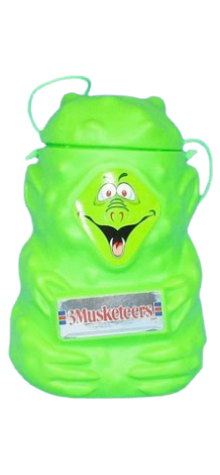 3 Musketeers Goblin Candy Pail photo