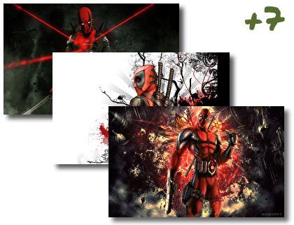 Deadpool theme pack
