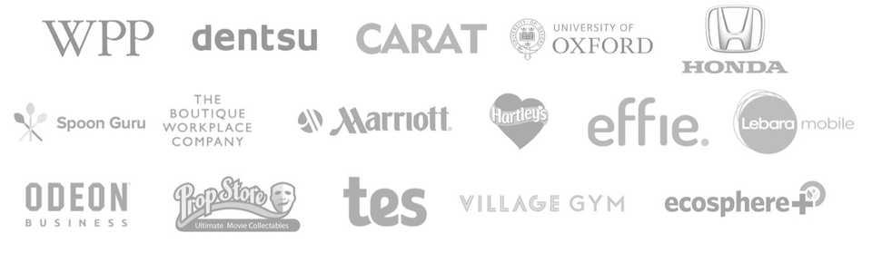 ContentCal client logos